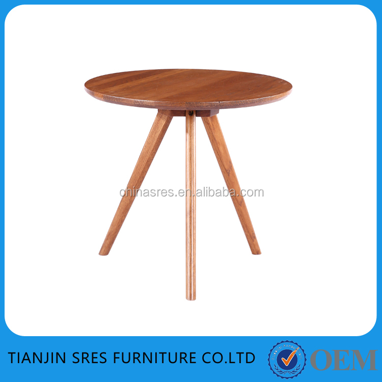 Hot sell Elegant modern new design dining table MDF covered veneer