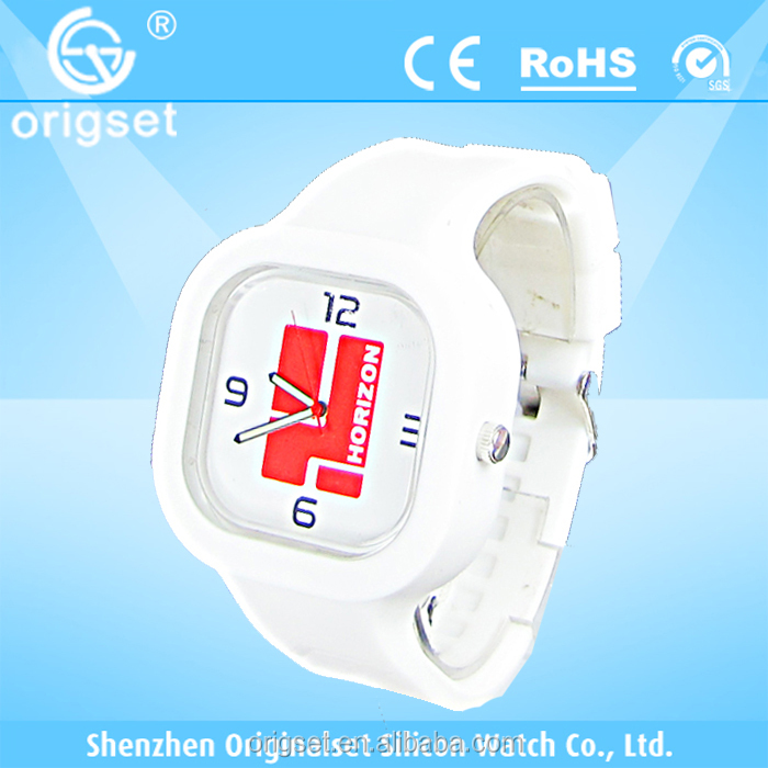 Newest 5ATM Water resistant TOP Quality Watch Custom watch Silicon Watch 12 colors new promotional item