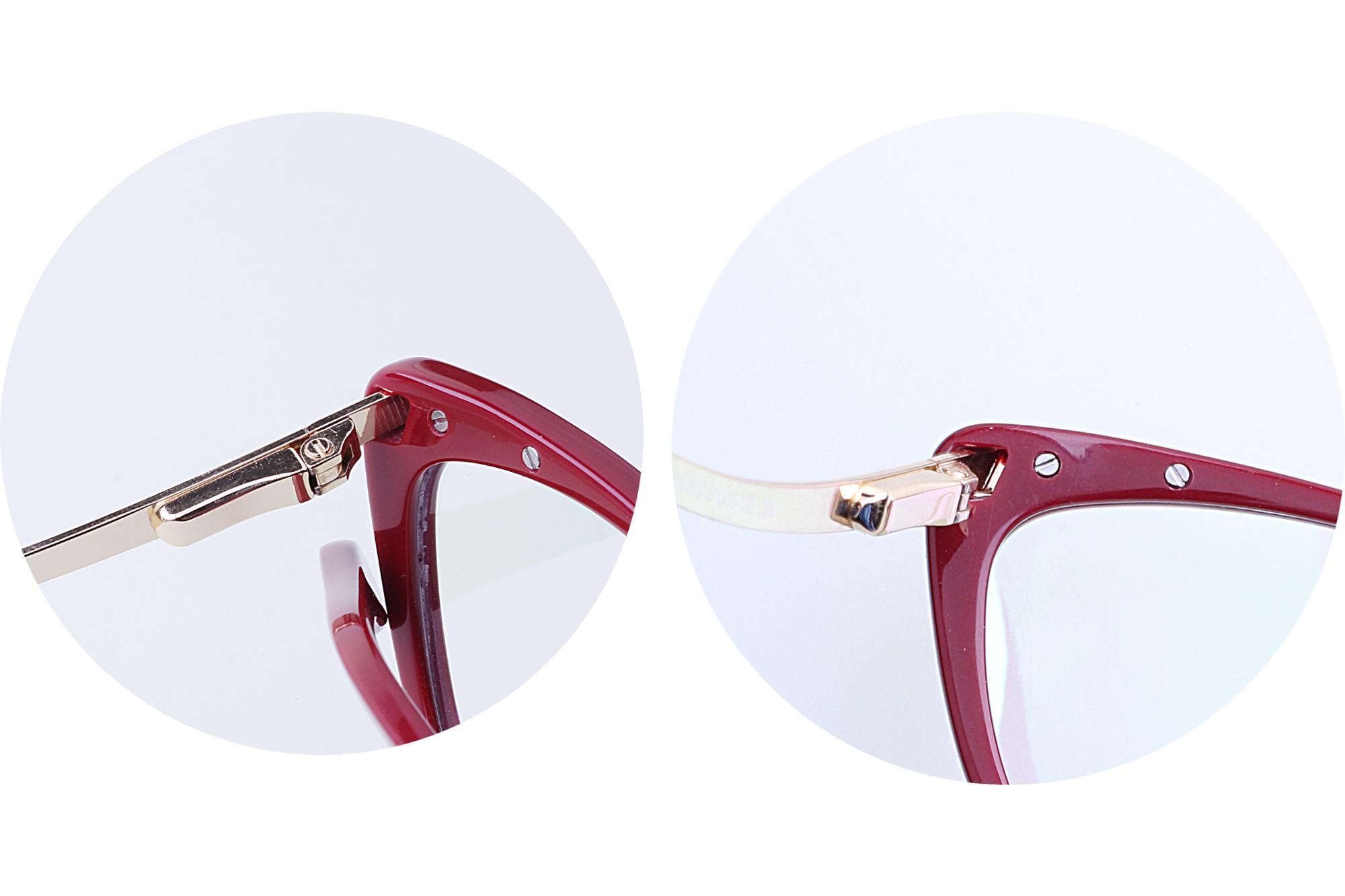 Wholesale manufacturer new arrivals 2018 cat eye glass gold and black women spring hinge acetate optical eyewear frame
