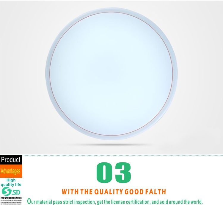 Make In China Round Plastic Led Ceiling Light Covers Buy
