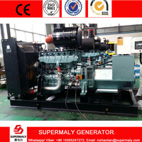 natural gas generator 250KVA by Sinotruck Steyr engine CHP for factory