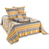 new arrival bedspread,zick zack bedspreads,cotton quilted bedspared sets
