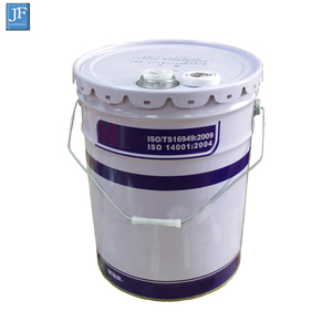 New Oval Paint Metal Barrel Drum 20 Liter Tin Paint Metal Bucket With Lid