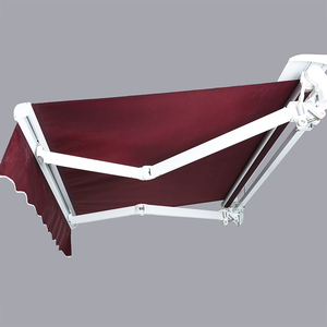 Cheap Factory Price residential balcony awning remote control open awning outdoor pergola awning Factory price