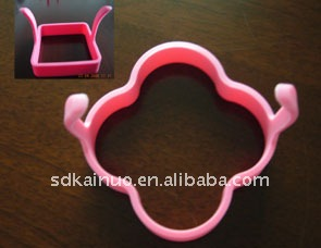 four-leaf clover shaped silicone egg frying ring