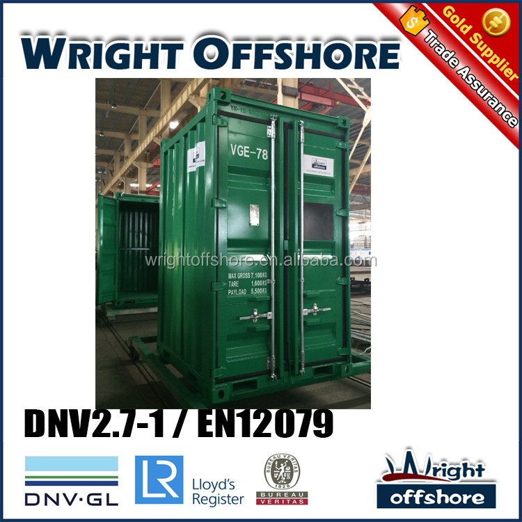 DNV equipment 6Ft Offshore Mini container, DNV2.7-1/En12079, DNV-GL,LR, CSC