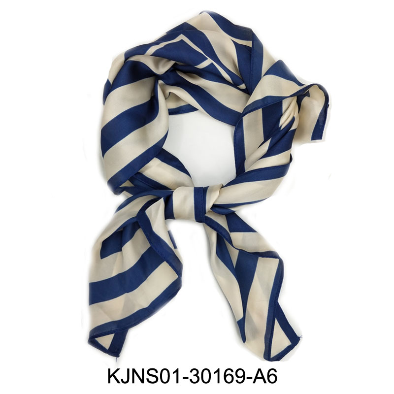 New fashion spring summer office ladies neck <strong>scarf</strong> plain stripe square <strong>scarf</strong>