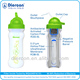 Diercon portable drinking sports water bottle/jug/mug filter for travel/outdoor survival /bike better than Brita/Bobble OEM ODM