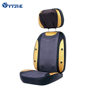Vibrating heated auto shiatsu back massage cushion for chair and car