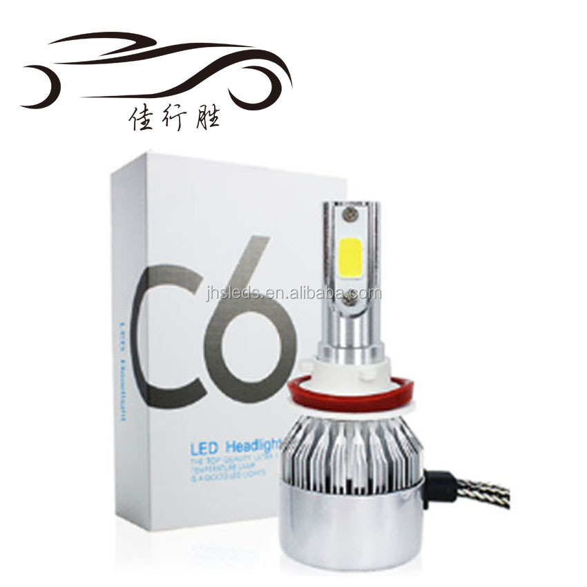 H4 H7 LED Car Headlight C6 H1 H3 Headlamp Light H8 H11 HB3 9005 HB4 9006 9012 9007 H13 6000K All In One Car LED