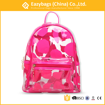 Girls Beauty Mini Transparent Pvc Beach Travel Backpack Buy