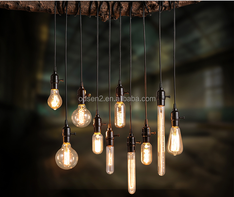 fancy decorative E27 string lights edison lamp