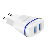 Fast Charger UK/EU/AU/US Standard Multi Quick Charging Wall Charger Usb Charger