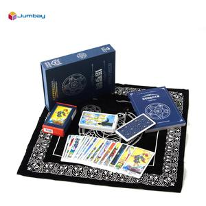Wholesale Custom Printing Paper Or 100% Plastic High Quality Rider Waite Naruto Mini Deck Tarot Oracle Cards with printed book