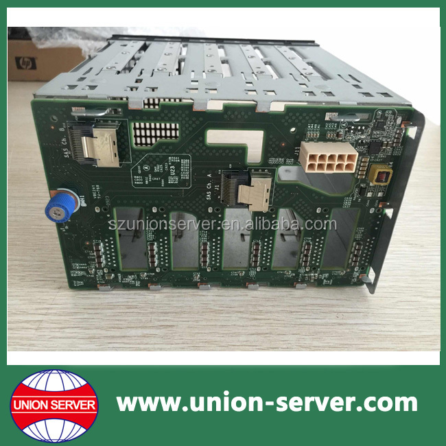 "511782-001 Proliant ML350 G6 8-Bay 2.5"" SAS/SATA Hard Drive Cage w/ Backplane"