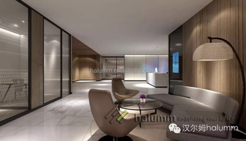 Halumm Decorative Wall Panel Lobby Partition Removable Office