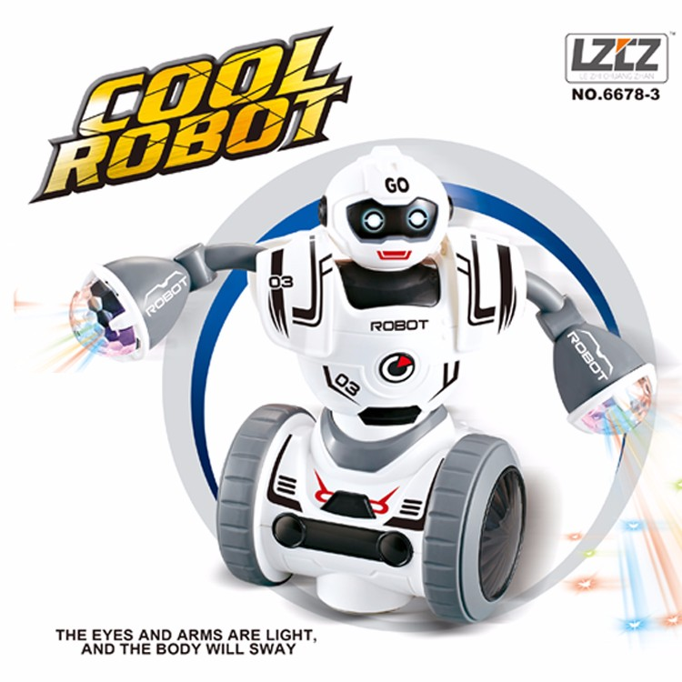 New soft children gift music dancing robot toy early education electric balance robot for kids