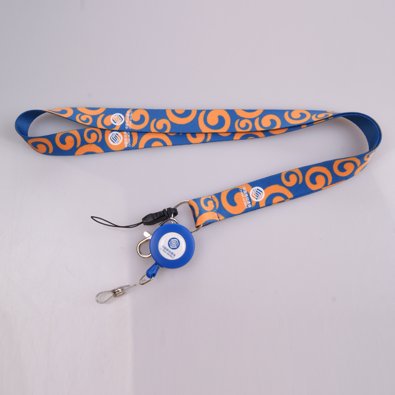 Eco-Friendly high quality polyester recycling lanyard