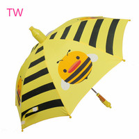 China supplier cheap custom personalized unique Color changing safety open children magic umbrella with logo printing 019
