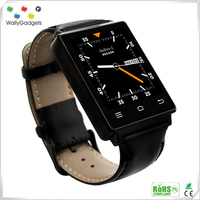 Powerful MTK6580 Support TF Card D6 smart watch android mobile phone