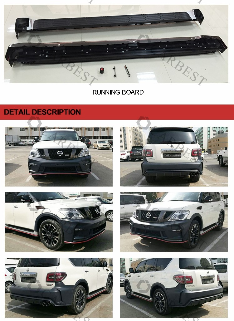 High Quality New 2016 Nismo Rear Bumper For Nissan Patrol Y61 Y62 2010-2016  - Buy Nismo,For Nissan Nismo,Rear Bumper For Nissan Y61 Product on