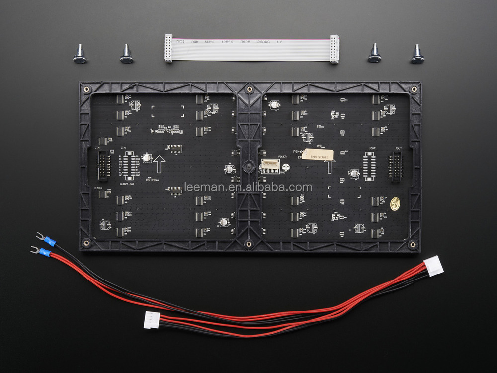 P4 Indoor Black Led Smd 2121 Led Module Leeman Display P8 Smd ...
