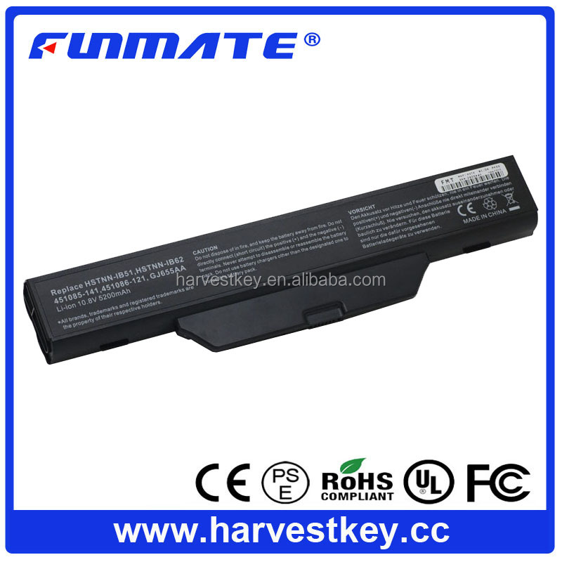 Replacement Battery for HP Compaq 550 610 6720s 6730s 6735s 6820s 6830s HSTNN-IB52 battery