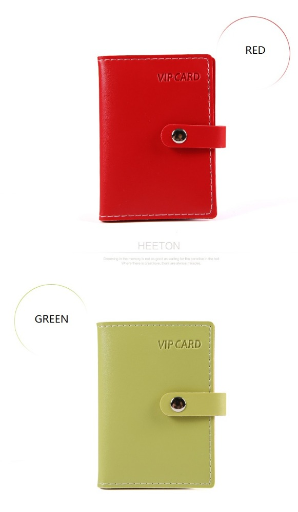 executive producer small sizes leather card holder album vip card