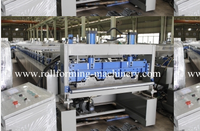 Metal Floor Decking Roll Forming Machine for Building Material