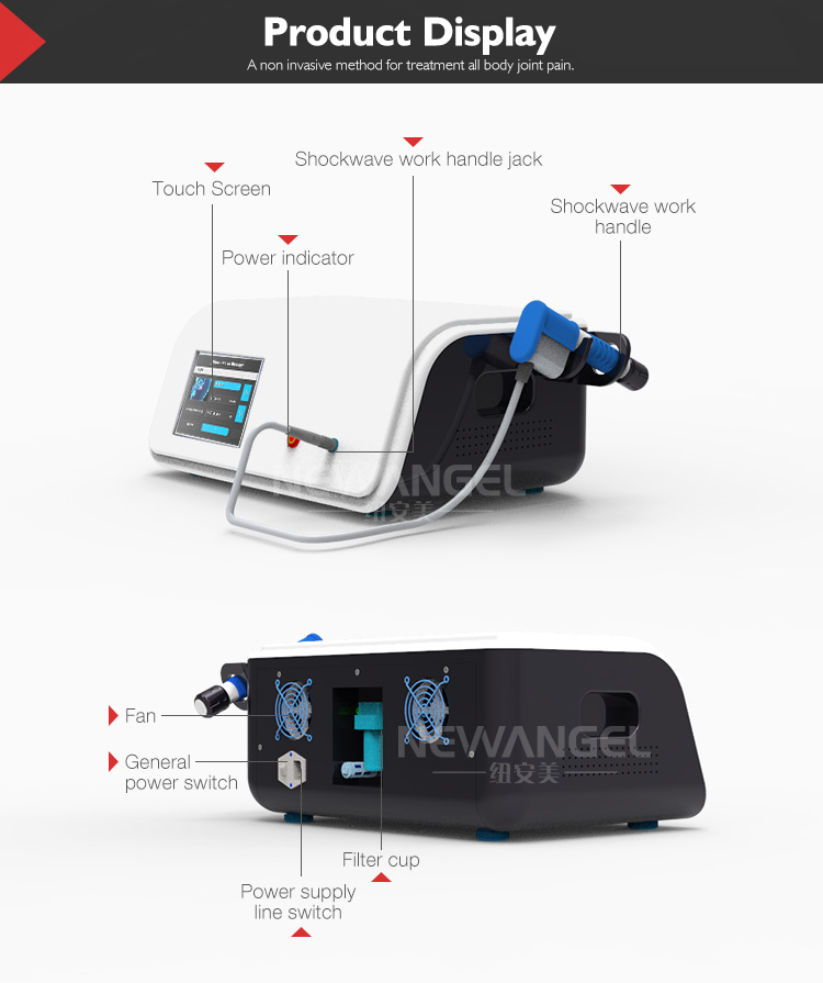 Shock wave therapy equipment medical use sw12 shockwave