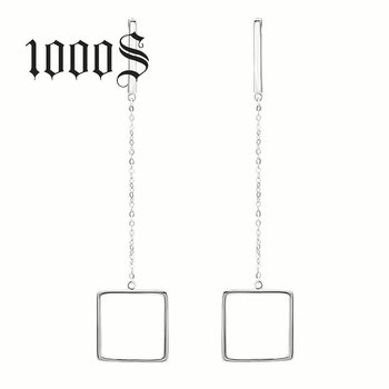 79fa918ac Popular Korea Style Jewelry 925 Sterling Silver Square Shape Stud Earring  Wholesale Price