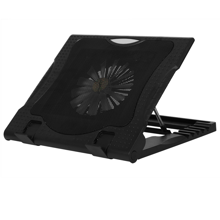 Portable Metal Mesh <strong>Laptop</strong> Stand with <strong>Cooling</strong> <strong>Fan</strong> <strong>for</strong> Notebook