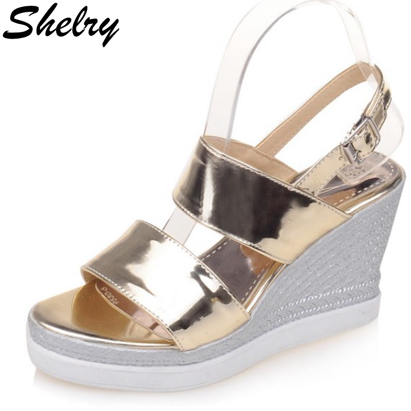 sandal on sale 2016 high platform wedge sandals sexy ...