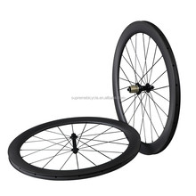 Toray T800 carbon fiber road bicycle wheels,50mm clincher carbon road bike wheels