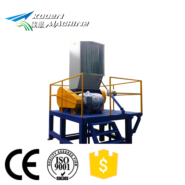 Plastic crusher voor recycling PE PP films