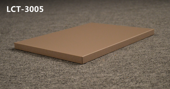 High hardness glossy PETG laminated LCT mdf board