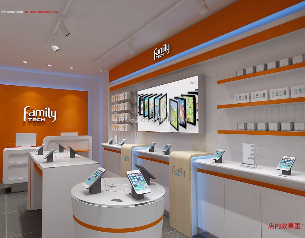 Fashion Creative Mobile Phone Shop Decoration Design - Buy Mobile ...