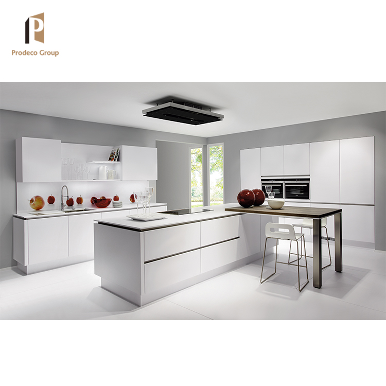 Hot Selling Modern Mdf White Lacquer Kitchen Cabinets Made ...