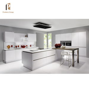 Hot Selling Modern MDF White Lacquer Kitchen Cabinets Made In China
