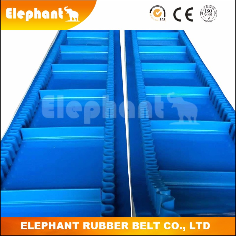 Water-proof PVC Cleats Conveyor Belt