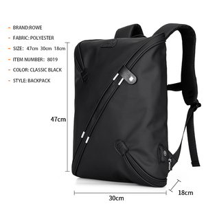 10015ae367 FENRUIEN Brand Distribution School Student Travel Waterproof Usb Backpack  Anti Theft with charging