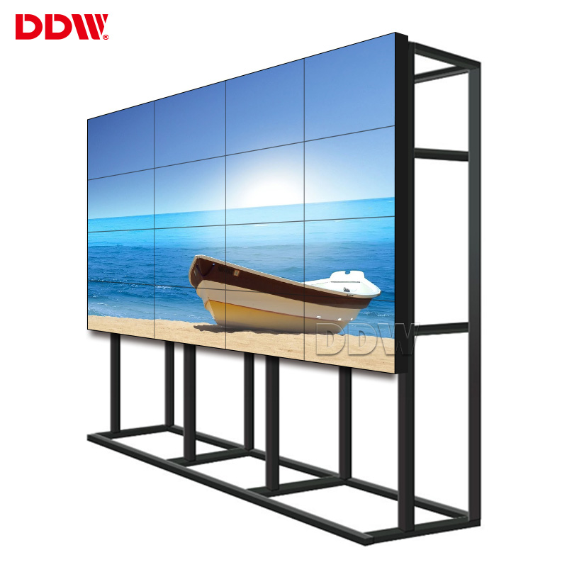 42/46/49/55inch Samsung LG LCD multi tv screen display splicing LCD Video Wall with DP loop and 4K board