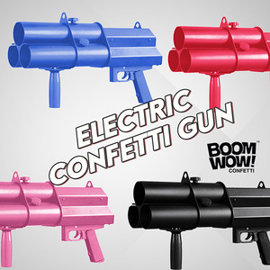 Electric Confetti Cannon Shooter Gun for party and wedding non fireworks