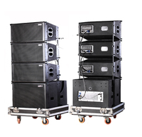 "Admark active 10"" line array with calss-D amplifier and built-in DSP"