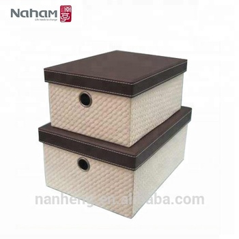 Naham Stackable Cardboard Living Room Small Storage Bo Box Product On