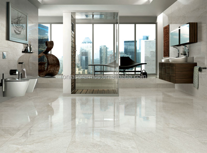 2014 Polished Porcelain Tiles Glazed Vien White Gold Marble Tiles Part 25