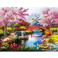 Nature Landscape 3d stereo wall pictures for living room