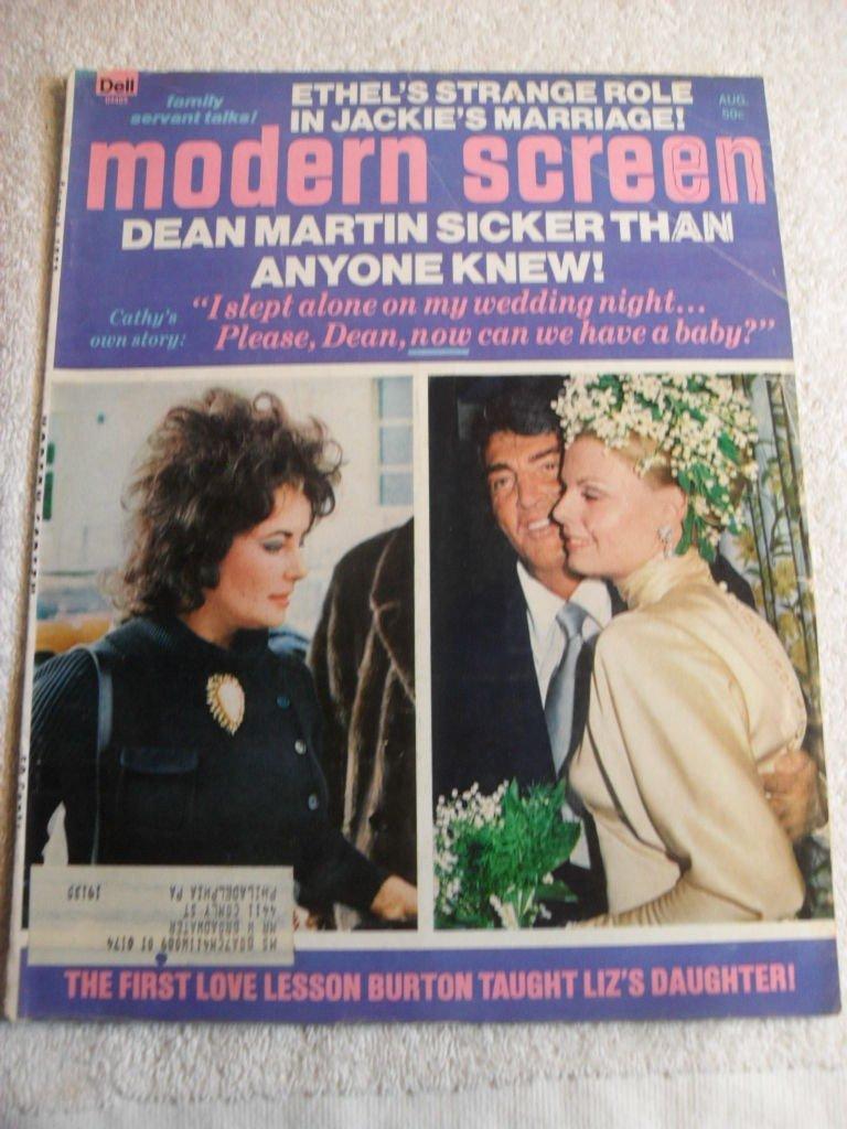 Buy MODERN SCREEN MAGAZINE March 1973 Jackie Kennedy Nude