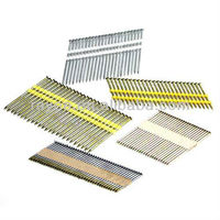 clipped head plastic polished/coated/electro galvanized framing nail