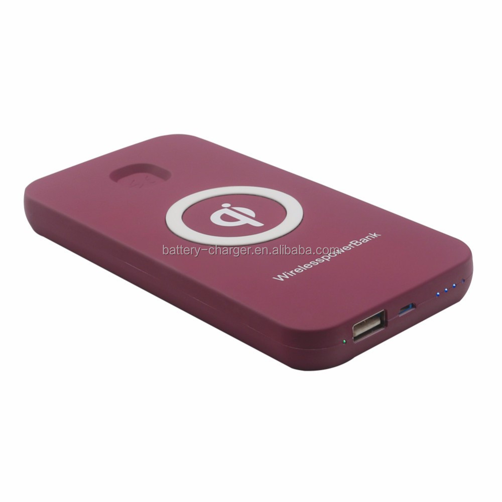 wholesale power bank wireless charger pad qi ,mobile wireless charger receiver